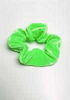 Haargummi Hellgrüner Samt