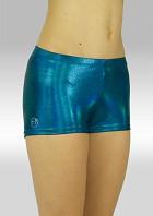 Turnhose O758oc Hotpants ozean grün