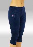 Legging 3/4 lang Blaue Samt P754ma
